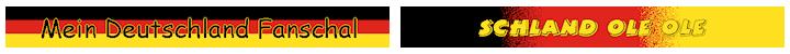 Deutschland Fanschal Design 02