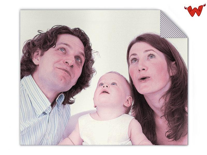 Fotodecke Familie
