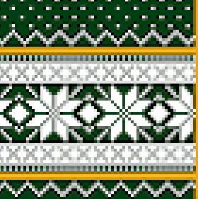 Fanschal Logo Ausschnitt Wildemasche