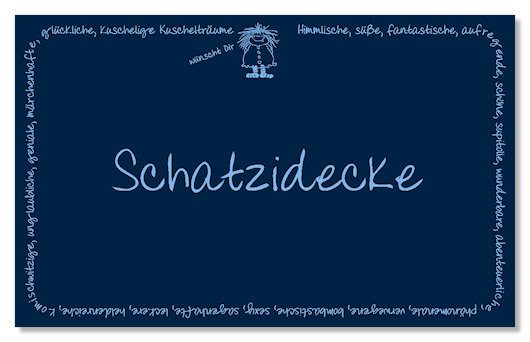 Kuscheldecke mit Namen