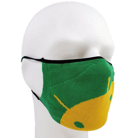 Gestrickte Maske gestalten