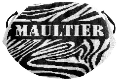 Muster Maske Text maultier