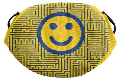 Spuck-Schutzmaske Smile