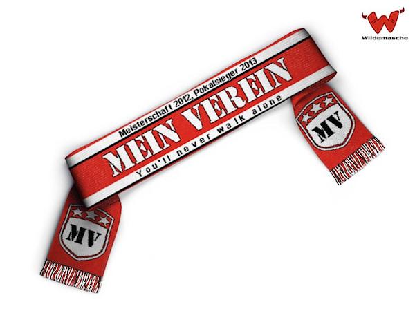 Soccer team scarf