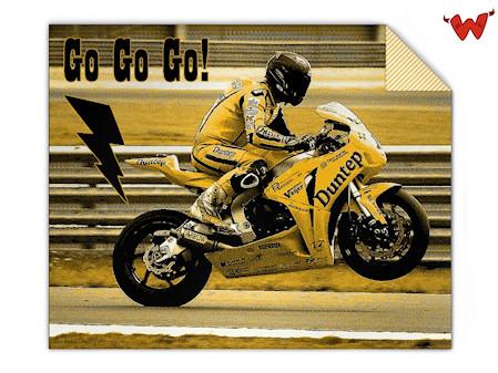 Fotodecke Motorrad
