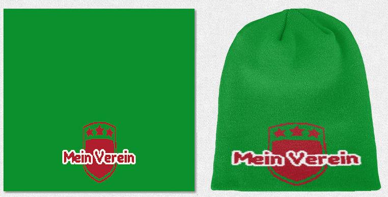 Mütze Design Strick