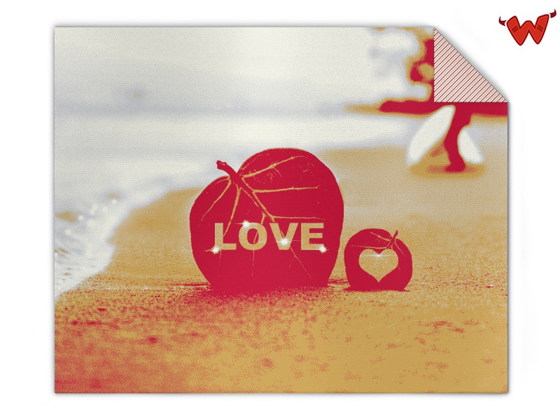 Blanket beach love