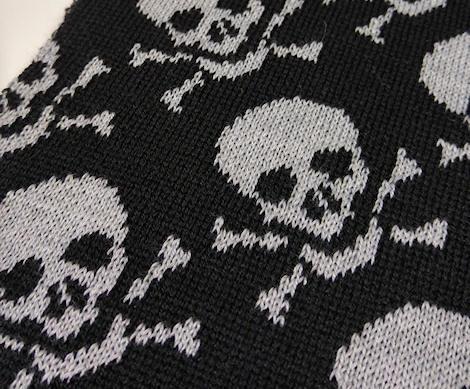 Category design scarf acrylic yarn