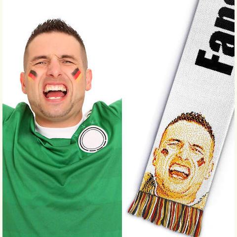 Category football scarf acrylic 4