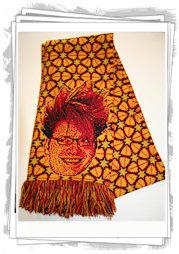 customized soccer scarf