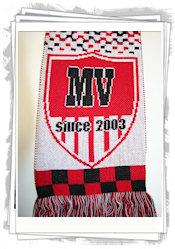 Jacquard fanscarf