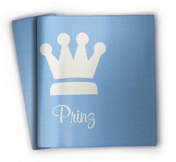 Kinderdecke mit Namen Prinz