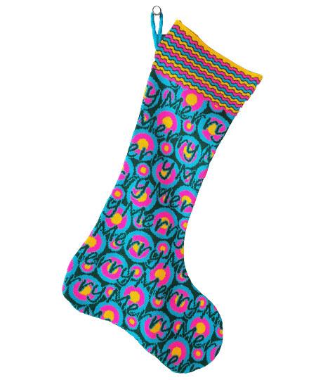 Custom design christmas stocking