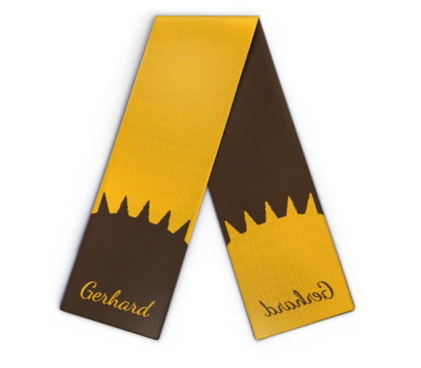 Knit scarf Gerhard