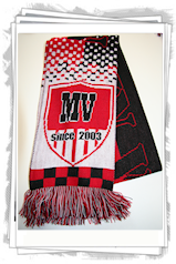 Customized football scarf