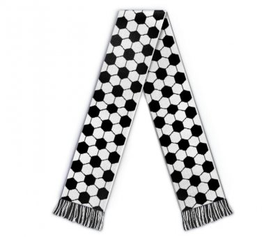 Football scarf leather