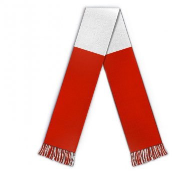 Football 3 bar scarf