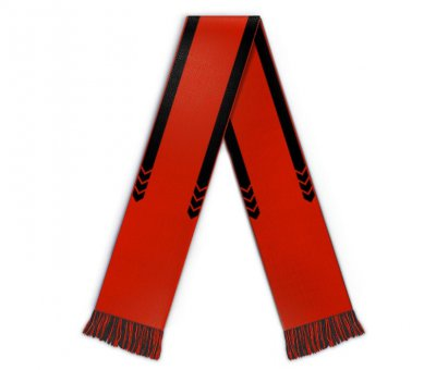 Soccer scarf mls black bars