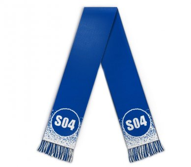 Football scarf blue white merchandise