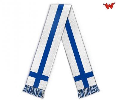 Football scarf Finland Suomi