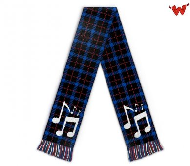 Custom scarf German schlager