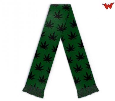 Cannabis Fanschal