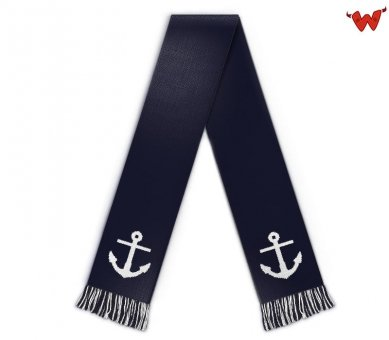 Football scarf anchor