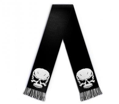 Football scarf skull