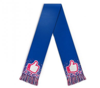 Football scarf clipart