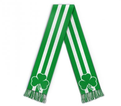 Football scarf St Patrick's day