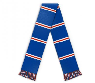 Kids Football scarf with stripes