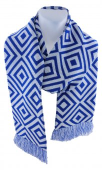 Maxi football scarf rhomb
