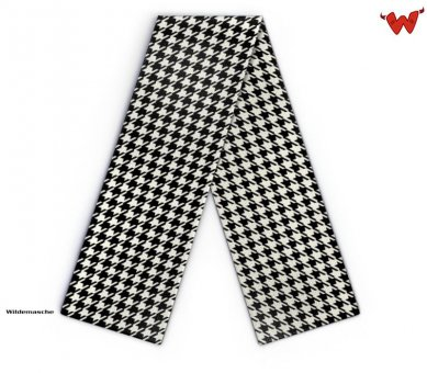 Maxi Design scarf houndstooth