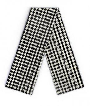 Maxi Design scarf pepita pattern