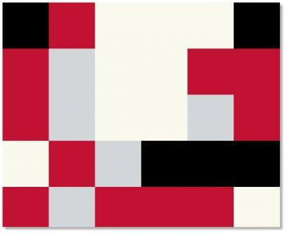 Decke 4-farb Pixel gross