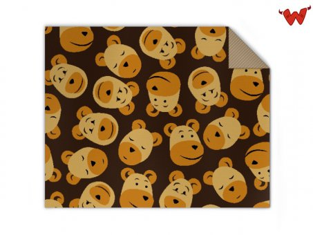 Baby Knit blanket bears