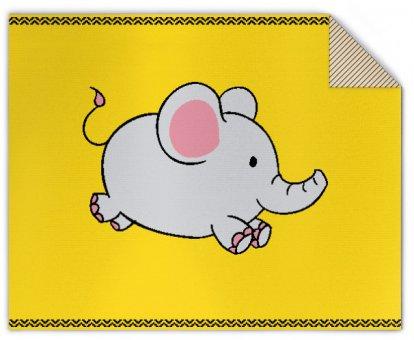 Baby Strickdecke Elephant