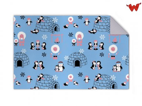 Kids blanket penguins