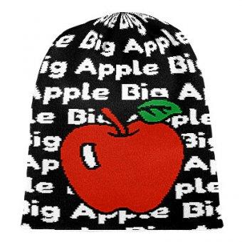Strick Beanie Big Apple NYC