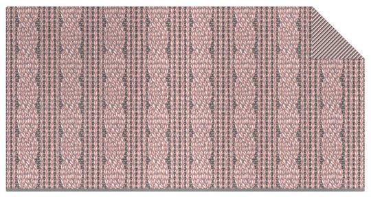 Strickstoff Zopf Muster