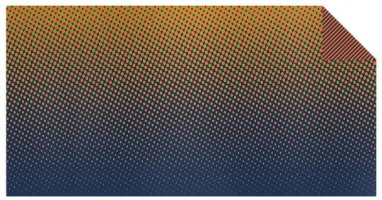 Knit fabric gradient
