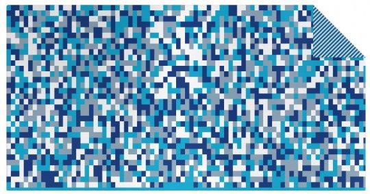 Jacquard Stoff Pixel