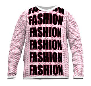 Fashion Pullover Feinstrick