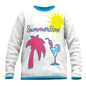 Fineknit summer sweater