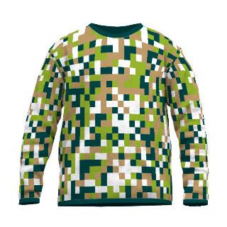 Feinstrick Pullover Pixel