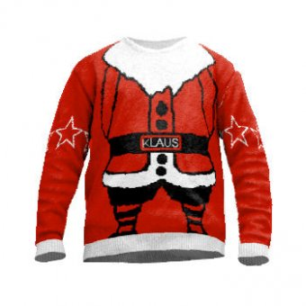 Christmas jumper santa clause