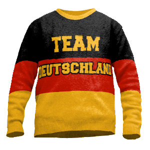 Knit Sweater Team Germany