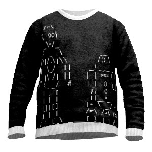 ASCII Art Sweater