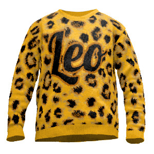 Pullover Leo Leopard