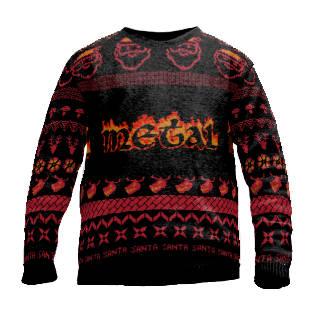 Heavy Metal christmas sweater